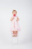 dziewczyna trochę cukiereczka Fotografia Stock