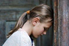 dziewczyna trochę smutna Fotografia Royalty Free