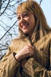 Dziewczyna uśmiechy Fotografia Stock
