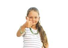 Dziewczyna uśmiechy Zdjęcie Royalty Free