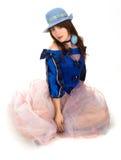 dziewczyna ubraniowy rocznik Zdjęcia Stock