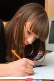 dziewczyna uczeń obrazy royalty free