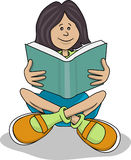 dziewczyna uczeń Obraz Stock