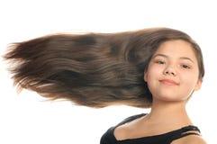 dziewczyna włosy tęsk obraz stock