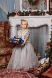 Dziewczyna W Biały Sukni Fotografia Stock