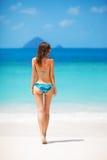Dziewczyna w bikini Fotografia Royalty Free