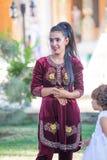 Dziewczyna w Bukhara, w Uzbekistan Obrazy Stock