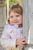 Dziewczyna w chustka na głowę Zdjęcie Stock