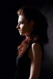 Dziewczyna w gothic wizerunku Fotografia Royalty Free