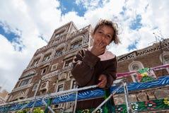 Dziewczyna w Jemen fotografia royalty free