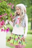 Dziewczyna w Lato Zdjęcie Stock