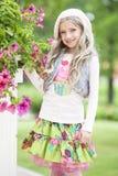 Dziewczyna w Lato Zdjęcia Stock