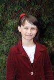 Dziewczyna w mundurze obrazy royalty free