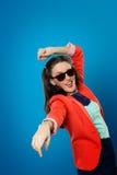 Dziewczyna w okularach przeciwsłonecznych Zdjęcia Royalty Free