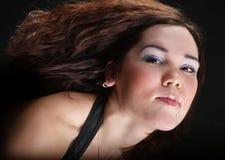 dziewczyna włosy Zdjęcie Royalty Free