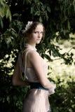 Dziewczyna w sukni Fotografia Stock