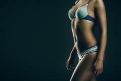 Dziewczyna w swimwear Fotografia Stock
