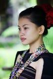 Dziewczyna w tradycyjnej odzieży Obrazy Royalty Free