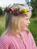Dziewczyna w wianku Zdjęcie Royalty Free