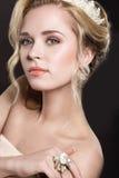 Dziewczyna w wizerunku panna młoda Obraz Royalty Free
