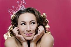 Wesoło Princess zdjęcia royalty free