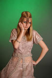 Dziewczyna w wschodniej sukni obrazy royalty free