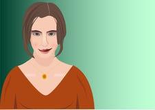 dziewczyna wektor royalty ilustracja