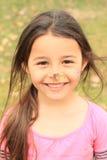 Dziewczyna z czarownica nosem Zdjęcia Royalty Free