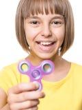 Dziewczyna z kądziołkiem Obraz Royalty Free