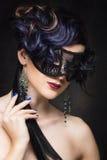 Dziewczyna z maską Zdjęcie Royalty Free