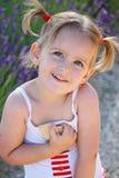 Dziewczyna z pleceniami zdjęcia royalty free