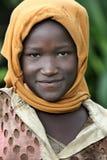 dziewczyna z portretu Fotografia Stock