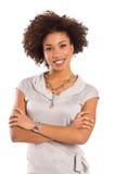 Szczęśliwa młoda kobieta Fotografia Royalty Free
