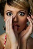 dziewczyna z tworzywa sztucznego Zdjęcia Stock