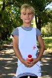 Dziewczyna z uśmiechem Obraz Stock