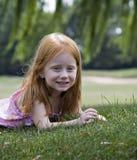 dziewczyna z willow Zdjęcia Stock