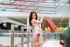 Dziewczyna z zakupami Fotografia Stock