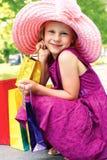 Dziewczyna z zakupy Obraz Stock