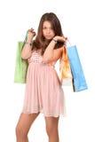 dziewczyna zakupy Obraz Royalty Free