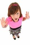 dziewczyna zaskakująca Obraz Stock