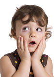 dziewczyna zaskakująca Zdjęcie Stock