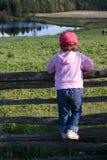 dziewczyna ze wsi Obrazy Royalty Free