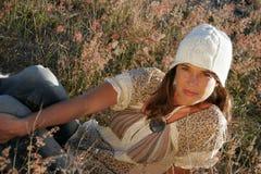dziewczyna ze wsi zdjęcia stock