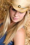 dziewczyna ze wsi Zdjęcie Stock