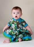 dziewczynek 6 miesiąc Obraz Royalty Free