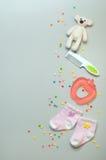 Dziewczynek akcesoriów pojęcie Zdjęcie Stock