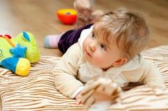 dziewczynek zabawki Zdjęcia Royalty Free