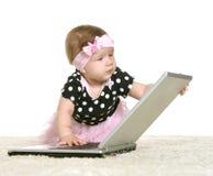 Dziewczynka bawić się Zdjęcia Stock