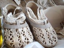 Dziewczynka buty Obraz Royalty Free