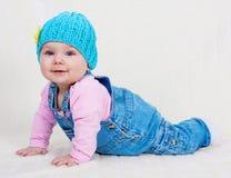 dziewczynka cukierki Zdjęcie Stock